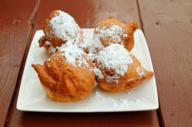 Traditional Venetian Carnival food: frittelle